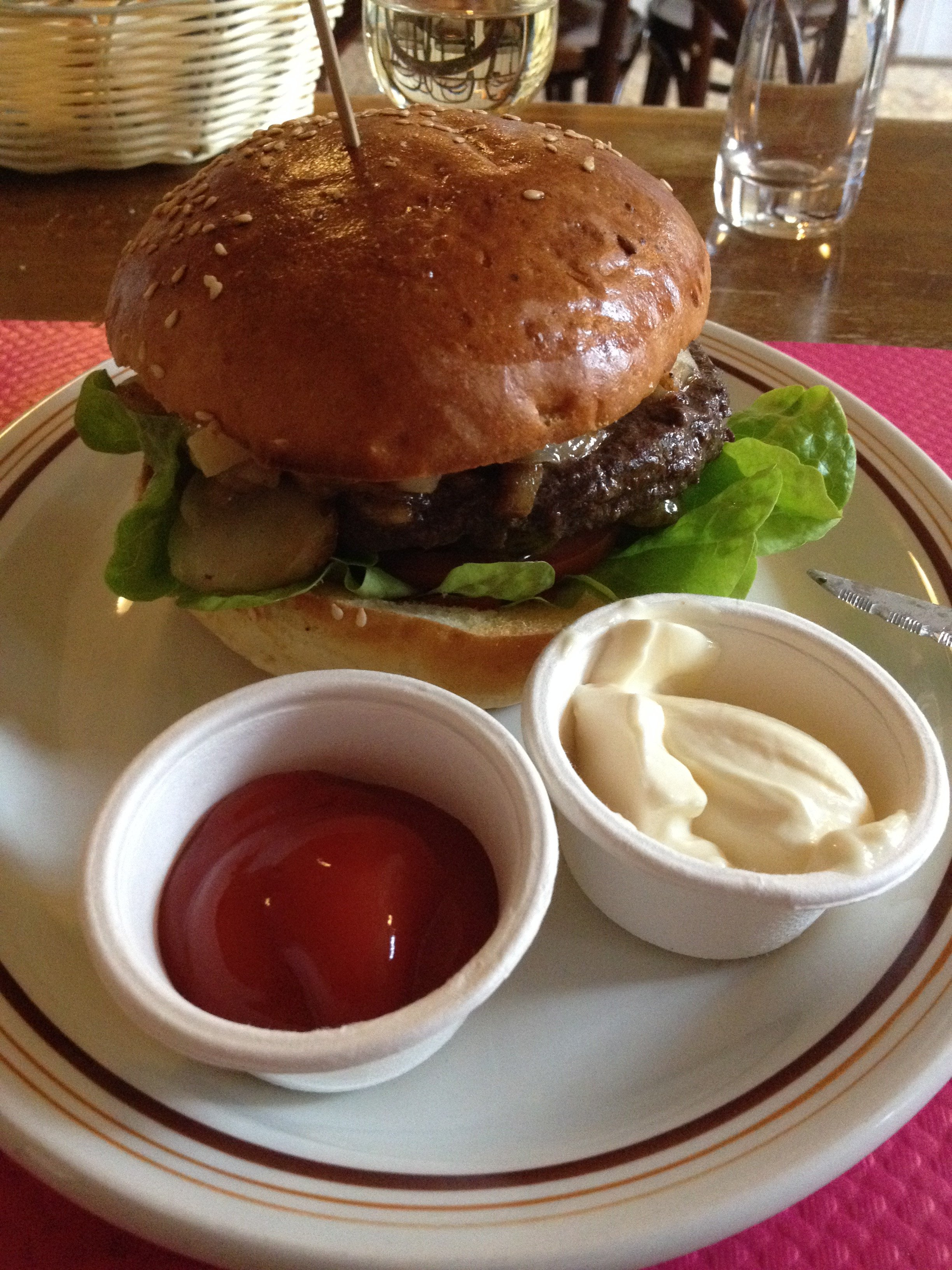 Le hamburger Alpin
