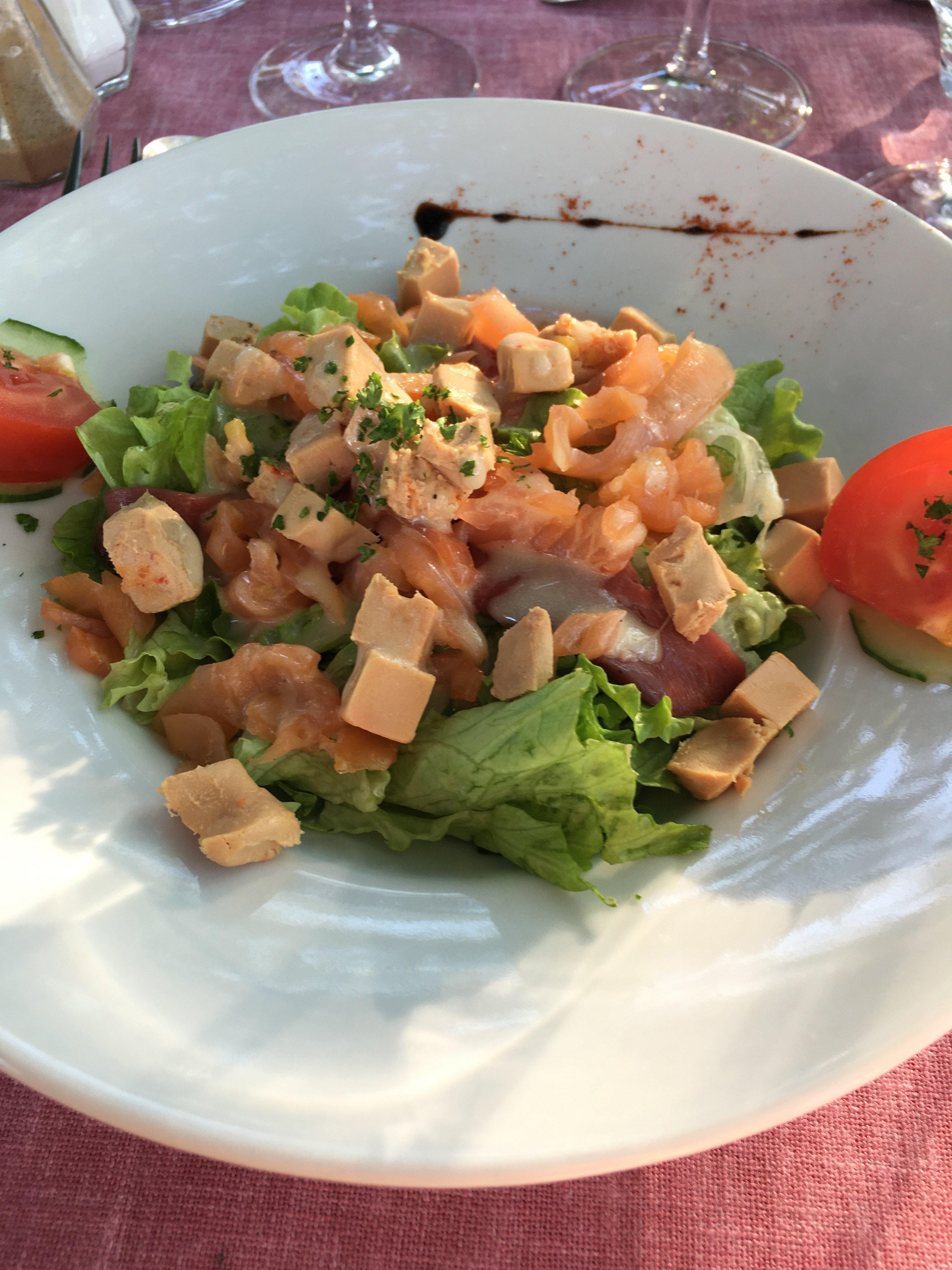 La salade gourmande